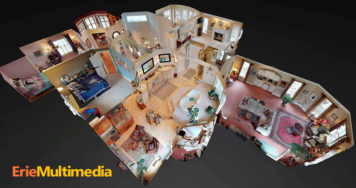 Award winning Matterport Scanning, Erie PA
